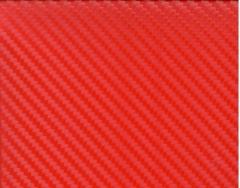 3D Карбон цвет красный
