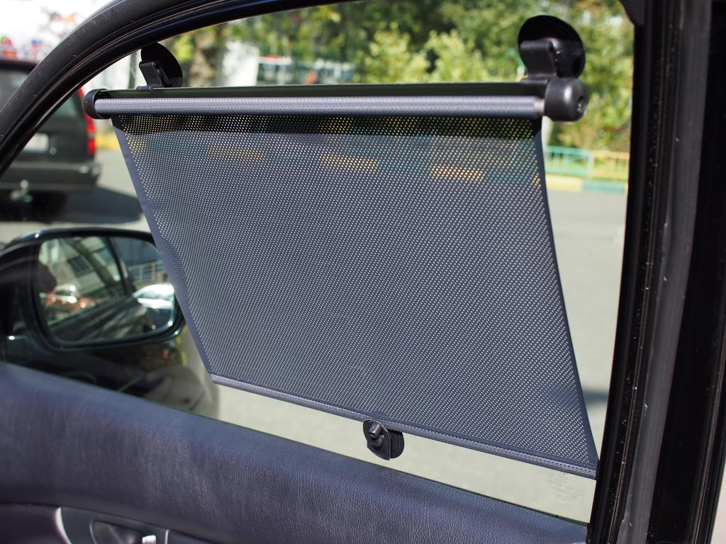 Солнцезащитные шторки для автомобиля своими руками 480